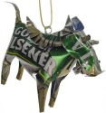 African Tin Animals TOW Warthog Unpainted Tin Ornament