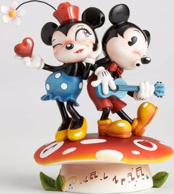 World of Miss Mindy 4058894 Mickey & Minnie