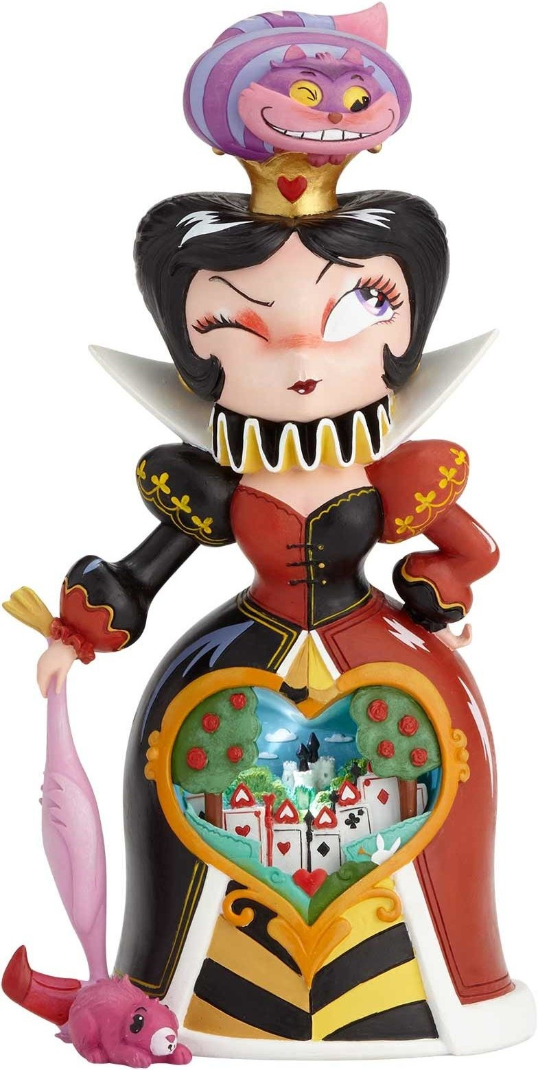 World of Miss Mindy 6001036 Queen of Hearts Figurine