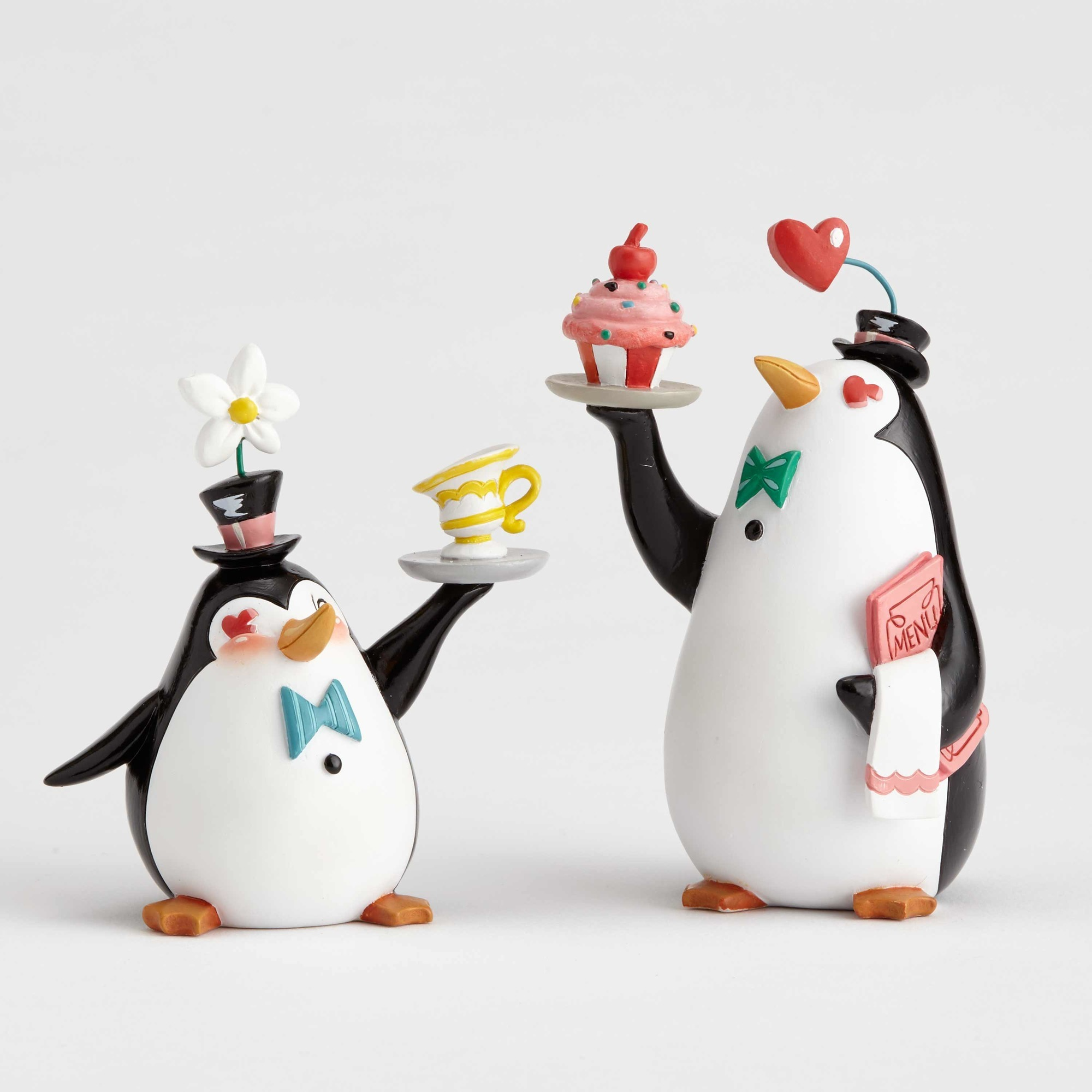 World of Miss Mindy 6001672 Penguin Waiters