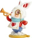 World of Miss Mindy 6001037 White Rabbit Figurine