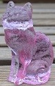 Special Sale 101Alexandrite Mosser Glass 101 Cat Sitting Alexandrite - The Collector's Addition Exclusive