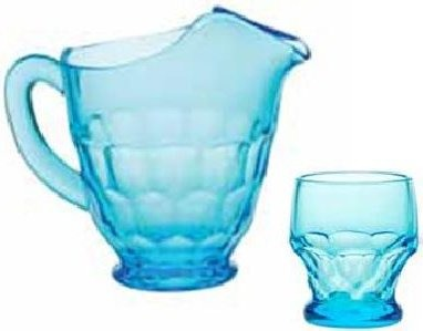 Mosser Glass 1539TBlue Blue Tumbler Georgia Set
