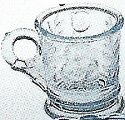 Special Sale 165Aqua Mosser Glass 165 Aqua Child's Mug