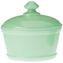 Mosser Glass 217Jadeite Butter Tub 217 Jadeite