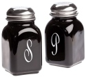 Mosser Glass 247Black Salt & Pepper Set 247 Black