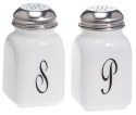 Mosser Glass 247Milk Salt & Pepper Set 247 Milk