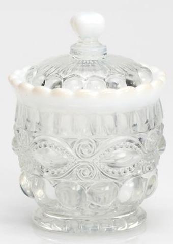 Mosser Glass 409SCrystalOpal Crystal Opal Sugar