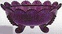 Mosser Glass 915FBAmethyst Footed Set 915 Fruit Bowl Amethyst