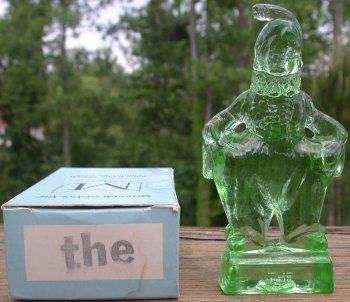 Special Sale MindyThe Mosser Glass Mindy Clown The Apple Green Figurine