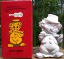Special Sale FiddlerRufie Mosser Glass Fiddler Clown Rufie Pewter Slag Clown Figurine