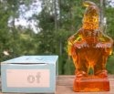 Special Sale MindyOf Mosser Glass Mindy Clown Of Amber Figurine