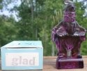Special Sale MindyGlad Mosser Glass Mindy Clown Glad Amethyst Figurine