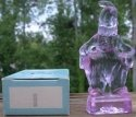 Special Sale MindyI Mosser Glass Mindy Clown I Cranberry Ice Figurine