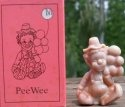 Special Sale PeeWeeM Mosser Glass Pee Wee Clown M Chocolate Clown Figurine