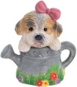 Mwah 93995 Puppy in Watering Can Salt & Pepper Shakers