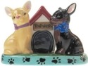 Mwah 94440 Chihuahuas S&P and Toothpick Holder Set