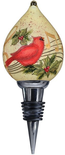Ne'Qwa Art 7000215 Holiday Music Wine Stopper