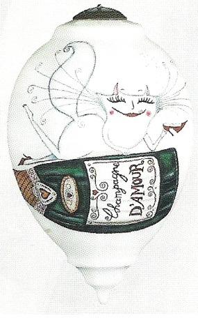 Special Sale 7000508 Ne'Qwa Art 7000508 Champagne Kitty - Clare Mackie (508CDCM)