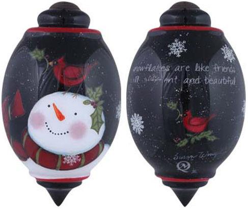 Ne'Qwa Art 7151151 Snowflakes Are Like Friends Ornament