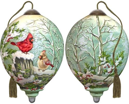 Ne'Qwa Art 7181115 Winter Visitors Ornament