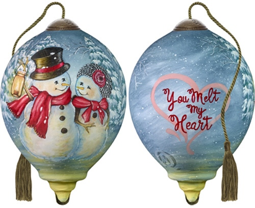 Ne'Qwa Art 7181122 You Melt My Heart Ornament