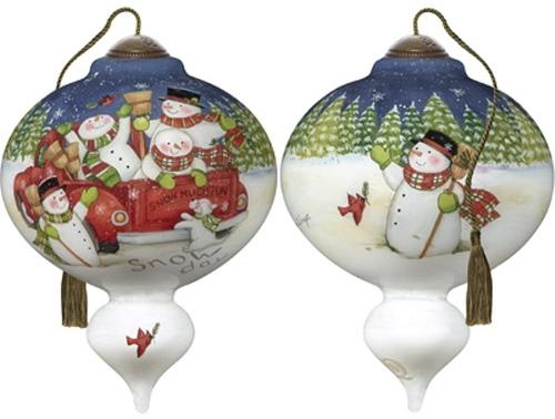 Ne'Qwa Art 7191113 Snow Much Fun Ornament