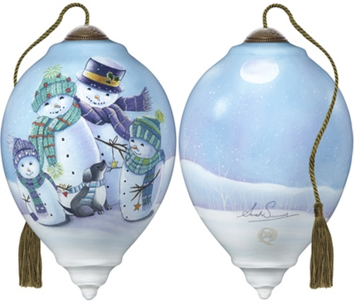 Ne'Qwa Art 7191116 Festive Family Ornament