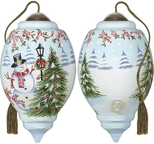 Ne'Qwa Art 7191120 Winter Scene Ornament