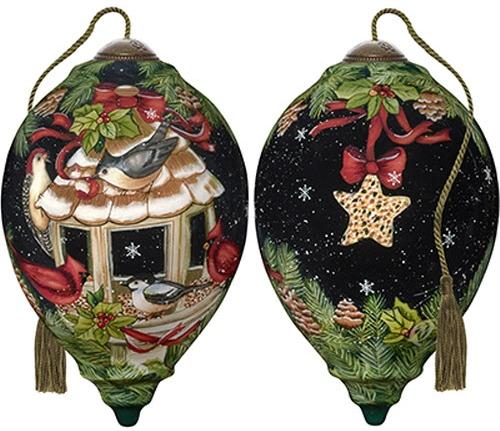 Ne'Qwa Art 7191132 Feathered Friends Ornament