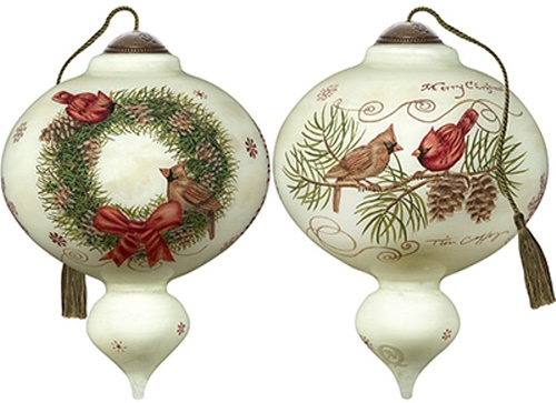 Ne'Qwa Art 7191133 Joyeux Noel Ornament