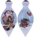 Ne'Qwa Art 7151159 Santa's Ornament