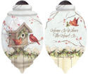 Ne'Qwa Art 7151167 Home Is Where The Heart Is Ornament