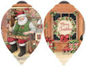 Ne'Qwa Art 7151176 Santa's Toy Shop Ornament