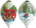 Ne'Qwa Art 7161126 Christmas Delivery Ornament