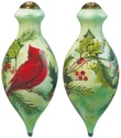 Ne'Qwa Art 7161139 Holly Cardinal Ornament