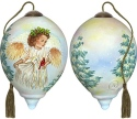 Ne'Qwa Art 7171127 Winter Guardian Angel Ornament