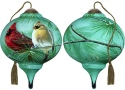 Ne'Qwa Art 7171165 Cardinals and White Pine Ornament