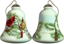 Ne'Qwa Art 7181105 Winter Cardinals Ornament