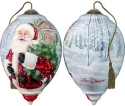 Ne'Qwa Art 7181109 Santa's Holiday Wreath Ornament