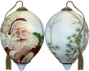 Ne'Qwa Art 7181113 Winter Santa Ornament
