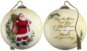 Ne'Qwa Art 7181130 Peace and Joy of Christmas Ornament