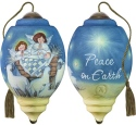 Ne'Qwa Art 7181138 Peace On Earth Ornament
