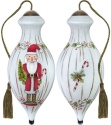 Ne'Qwa Art 7181142 Nutcracker Santa Ornament