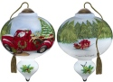 Ne'Qwa Art 7181143 Santa's Special Delivery Ornament