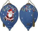Ne'Qwa Art 7191109 Hanging Around At Christmas Ornament