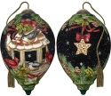 Ne'Qwa Art 7191132 Feathered Friends Ornament