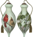 Ne'Qwa Art 7191137 Cardinals In Sumac Ornament