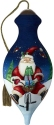 Ne'Qwa Art 7201129 Santa Riding Bike Ornament