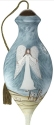 Ne'Qwa Art 7201159 Angel With Peace On Earth Message Ornament